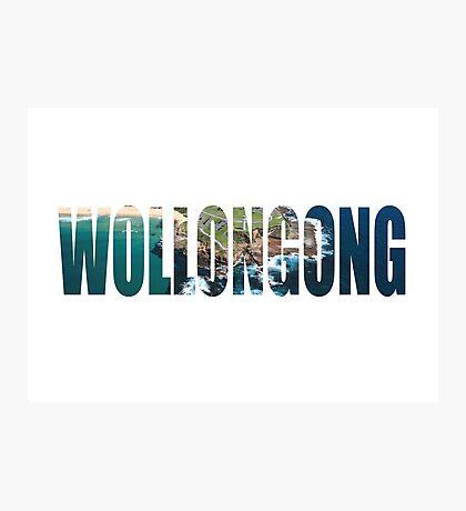 Wollongong Photographic Print