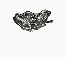 Crouching Frog Lino Print Unisex T-Shirt