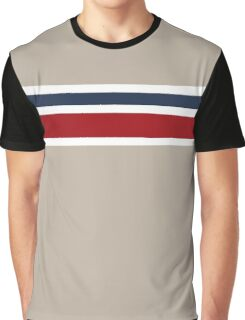 Taupe design with 2 stripes Graphic T-Shirt