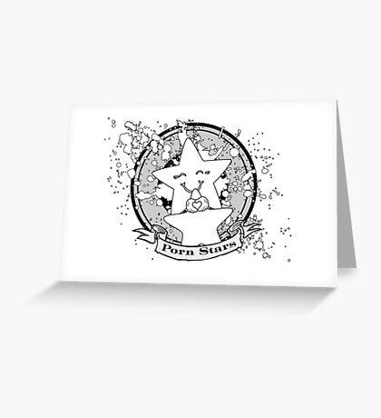 Porn Stars Greeting Card