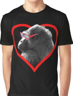 Gorilla Heart Graphic T-Shirt