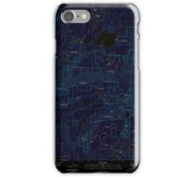 USGS TOPO Map California CA Sly Park 20120510 TM geo Inverted iPhone Case/Skin