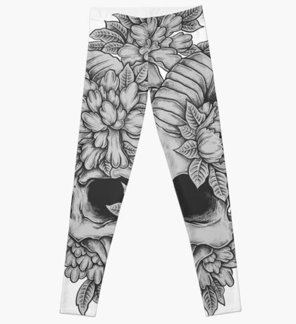 Japanese Skull Leggings