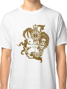 White Rabbit in Brown Classic T-Shirt