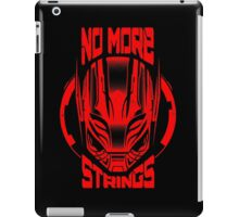 No More Strings (Vintage Effect) iPad Case/Skin