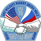 Space Shuttle Mission Patch- STS 79 by cadellin