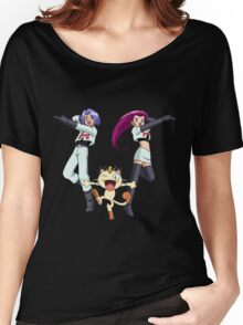 Jessie & James feat. Meoweth aka Team Rocket Women's Relaxed Fit T-Shirt