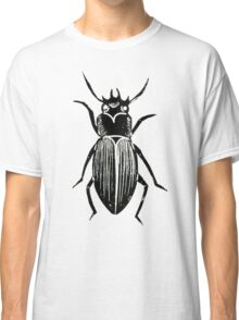 Beetle Lino Print Classic T-Shirt