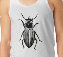 Beetle Lino Print Tank Top