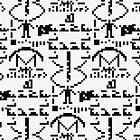 Arecibo Message 001 by Rupert Russell