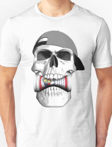 Skull Beer Can T-Shirt
