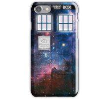 Space Tardis 1 iPhone Case/Skin