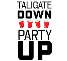Tailgate down. Party up Photographic Print