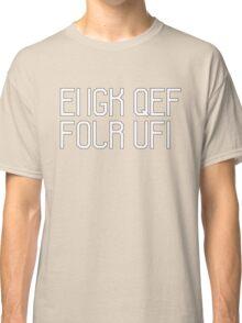 Fuck off hidden message Classic T-Shirt