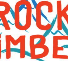 Real Rock Climbers Are Into Tight Cracks Sticker
