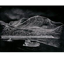 cader Idris & Barmouth harbour Photographic Print