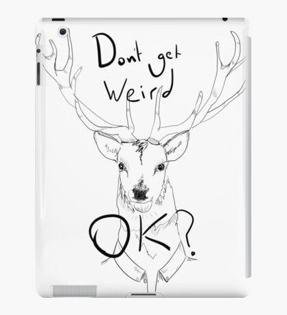 People Of Earth. Stag/Deer iPad Case/Skin