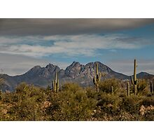 Four Peaks Photographic Print
