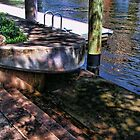 Low Tide on the New River Fort Lauderdale Two by GolemAura