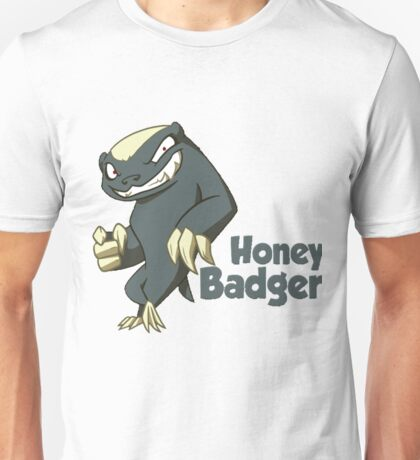Honey Badger - Don't Care Unisex T-Shirt