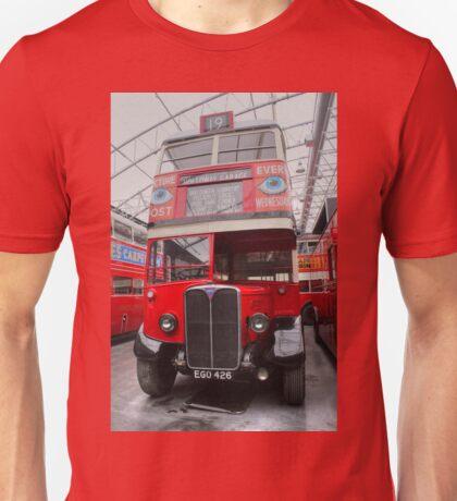 1937 AEC Regent I Bus – STL2377 Unisex T-Shirt