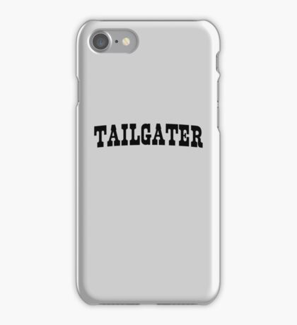 Tailgater iPhone Case/Skin