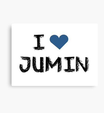 I love Jumin , Mystic Messnger Canvas Print