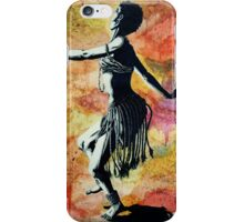 African Rain Dancer (1 of 2)  iPhone Case/Skin