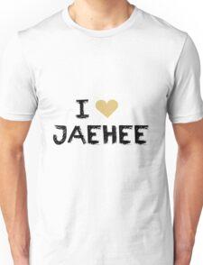 I love Jaehee , Mystic Messnger Unisex T-Shirt