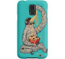 A Sloth Eating Spaghetti Samsung Galaxy Case/Skin