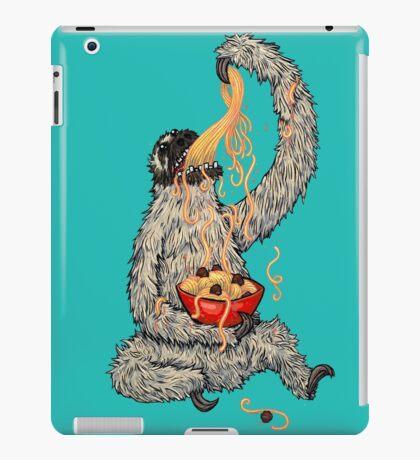 A Sloth Eating Spaghetti iPad Case/Skin