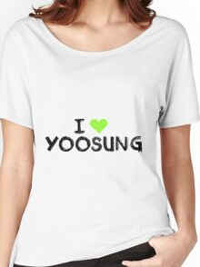 I love Yoosung , Mystic Messnger Women's Relaxed Fit T-Shirt