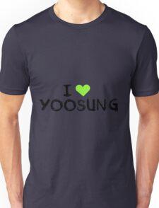 I love Yoosung , Mystic Messnger Unisex T-Shirt