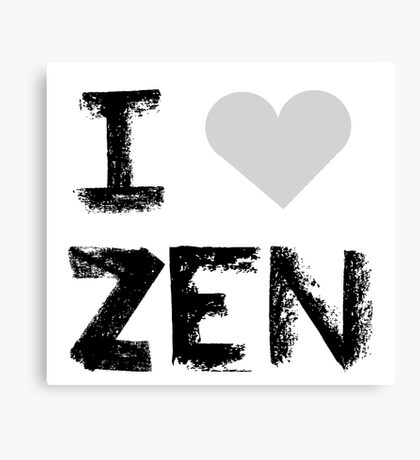 I love Zen , Mystic Messenger Canvas Print
