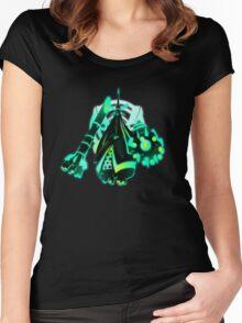 Celesteela Women's Fitted Scoop T-Shirt