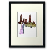 doomsday love  Framed Print