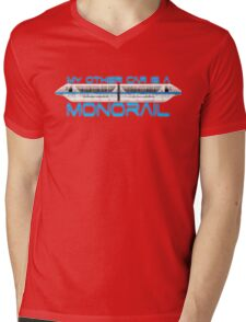 My Monorail Mens V-Neck T-Shirt