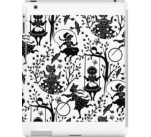 Black and white country girls iPad Case/Skin
