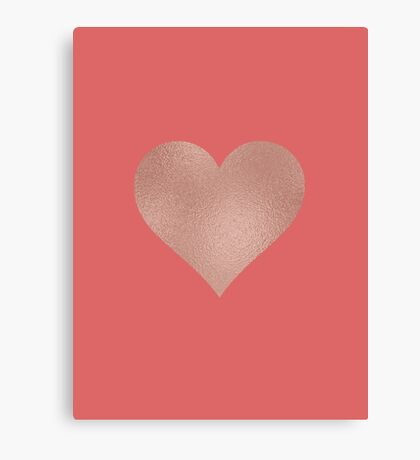 Heart Designs- Valentines Day Products Canvas Print