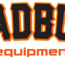 MadBum Equipment Sticker