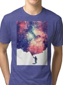 Painting the universe Tri-blend T-Shirt