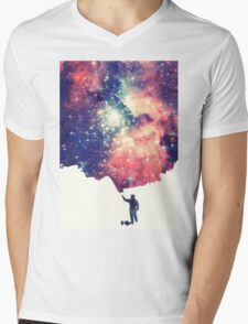 Painting the universe Mens V-Neck T-Shirt