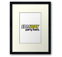 EDMWAY (special edition) Framed Print