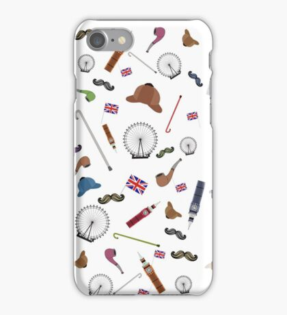 Sherlock inspired elements iPhone Case/Skin