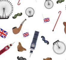 Sherlock inspired elements Sticker