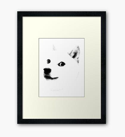 9 GAG - DOGE Framed Print