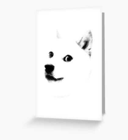 9 GAG - DOGE Greeting Card
