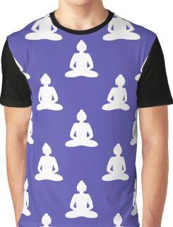 Buddha seamless pattern Graphic T-Shirt