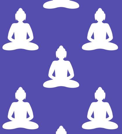 Buddha seamless pattern Sticker