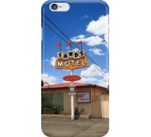 Route 66 - Sands Motel iPhone Case/Skin